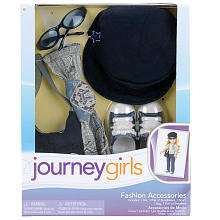 Journey Girls 18 inch Doll Fashion Sets   Military Chic Paisley Scarf