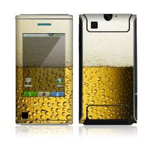 Love Beer Protector Skin Decal Sticker for Motorola Devour Cell Phone