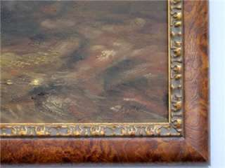 ORIGINAL ARTIST SIGNED OIL PAINTING FRAMED MUSEUM QUALITY