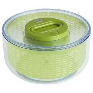 OXO Pump Salad Spinner, Green