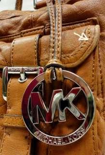MICHAEL KORS PRINCETON SHOULDER BAG SATCHEL LUGGAGE WASHED LEATHER