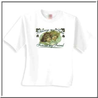 Always Sister Forever Friend Angel Shirts S 2X,3X,4X,5X