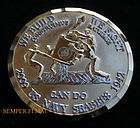 CAN DO SEABEES US NAVY USS CHALLENGE COIN JOHN WAYNE