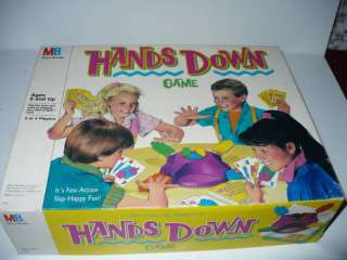 VINTAGE MILTON BRADLEY HANDS DOWN GAME JOKER CARD RARE
