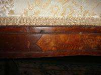 Antique Victorian Parlour Sofa / Settee Late 1800s Beautiful Solid