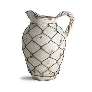 Arte Italica Orcio Large Pitcher with Rope Handle  Kitchen