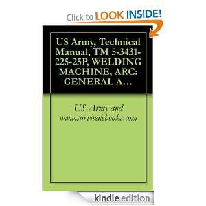 US Army, Technical Manual, TM 5 3431 225 25P, WELDING MACHINE, ARC