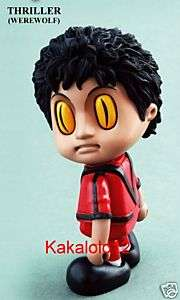 HOT TOYS Michael Jackson COSBABY Mini Thriller WereWolf