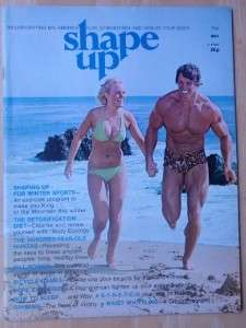 SHAPE UP bodybuilding muscle fitness magazine/ARNOLD SCHWARZENEGGER 5