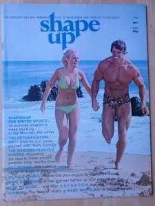 SHAPE UP bodybuilding muscle fitness magazine/ARNOLD SCHWARZENEGGER 5
