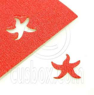 Starfish Paper Prints Craft Punch Scrap Booking 1.5cm
