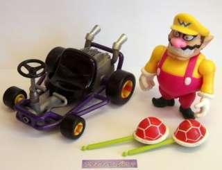Nintendo Toy Biz Mario Kart 64 Figure, WARIO, With Box