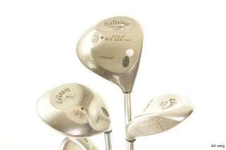 Mens Right Hand   Cobra Callaway Complete Golf Club Set Stiff Driver