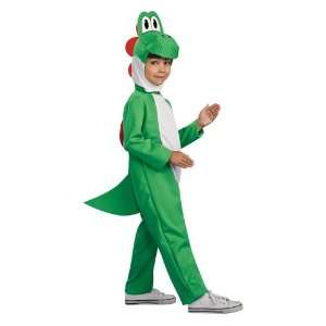 Kids Super Mario Bros Yoshi Halloween Costume (Medium (8