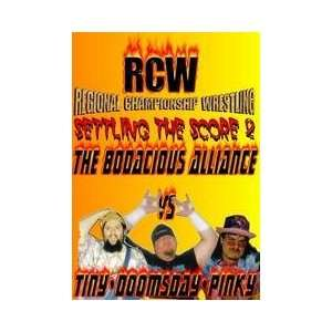RCW Settling the Score 2 DVD Everything Else