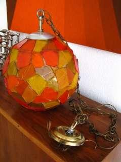 MID CENTURY MODERN HANGING LAMP 1960s PANTON EAMES ERA