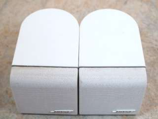 Acoustimass SINGLE CUBE SPEAKERS Look Good & Sound Great WHITE