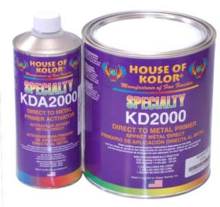 House Of Kolor KD2000 METAL PRIMER GL KT Auto/Car Paint
