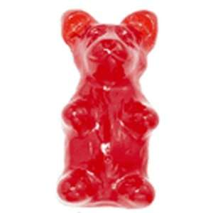 Giant Gummy Bear 1/2 Pound   Cherry Flavored Giant Gummy Bear