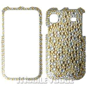 Bling Diamante Rhinestone Hard Case Cover For Samsung Vibrant T959 T