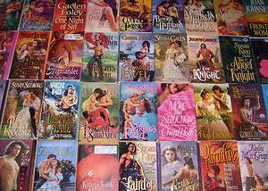 Historical Romance Paperback Book Lot INSTANT COLLECTION