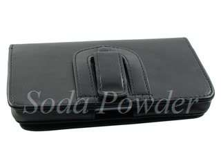 Leather Case Pouch Belt Clip for Samsung Galaxy Note (N7000)