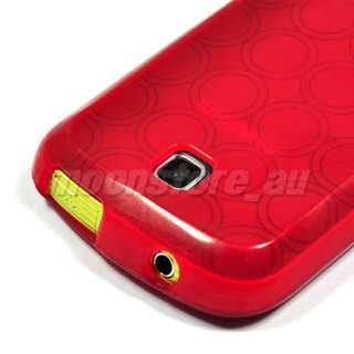 SOFT GEL TPU CASE COVER SAMSUNG GALAXY MINI S5570 RED