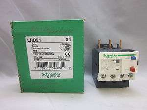 Schneider Electric Relay #LRD21 12   18A NIB |