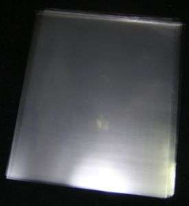 50 ACID FREE CRYSTAL CLEAR PLASTIC SHEET PROTECTORS