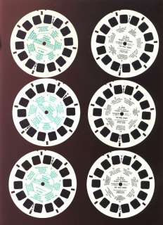 VIEW MASTER 3 Reel Sets (French) Mary Poppins & Pooh