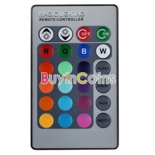 3W E14 16 Colors Changing RGB LED Light Bulb Lamp with Remote Control