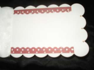 Lot 2 Handmade Scalloped Birthday Cards Stampin Up