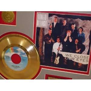 OINGO BOINGO GOLD RECORD LIMITED EDITION DISPLAY