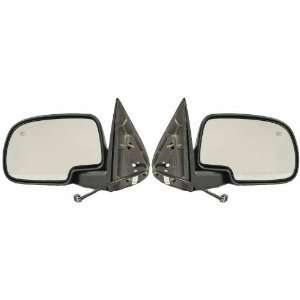 Side Mirror Pairs, Chevy Silverado 1500, Power, Heated, Manual Folding