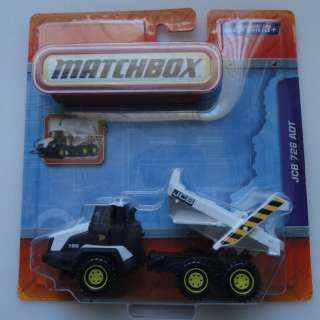 MATCHBOX JCB 726 ADT REAL WORKING PARTS DUMP TRUCK 027084661453