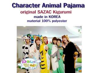 SAZAC Kigurumi Animal Costume Character Pajama Black Cat HOT