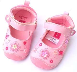 Mary Jane Pink bows toddler baby girl shoes size 2 3 4