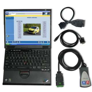 Lexia 3 PP2000 diagnostic tool for Citroen Peugeot + 30 pin cable