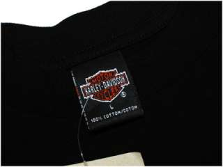 NEW NWT Mens HARLEY DAVIDSON Motorcycles Black Shirt L