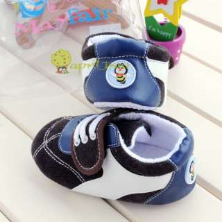 Cute Toddler Baby Boy shoes Sneaker first shoes(E55)size 2 3 4