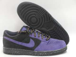Nike Dunk CL Purple Black Mens Sneakers Sz 11.5