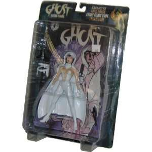 Ghost Comic Book Dark House Action Figure   WHITE VERSION