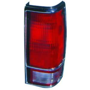 CHEVY S10/GMC S15/SONOMA 82 93 TAIL LIGHT UNIT PAIR SET NEW W/CHROME