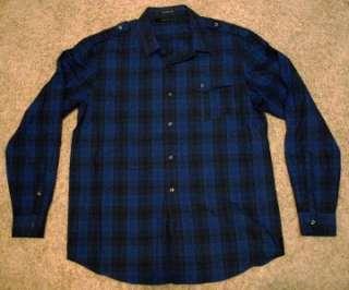 Sean John Tailored Fit Button Up Shirt XXL New