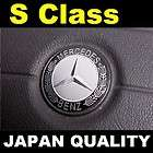 Mercedes Black Logo S Class Steering Wheel Emblem Horn Badge W221 W220