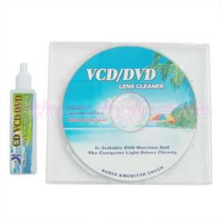 Laser Lens Cleaner Cleaning disc for CD / DVD Player