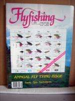 Flyfishing Magazine February 1987 Annual Fly Tying Issue