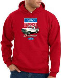Ford Truck BRONCO Classic 4x4 Adult Hoody Hoodie