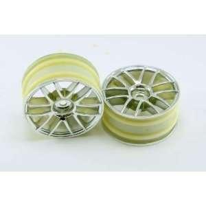 Chrome Spoke Wheels 2pcs