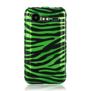 HTC Droid Incredible 2 Graphic Case   Green/Black Zebra